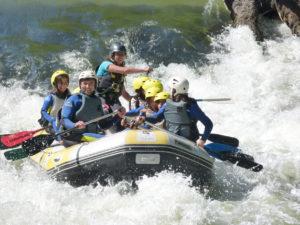 Rafting en English Immersion (Cantabria)