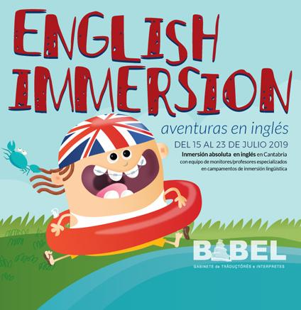 cursos de inmersión en inglés