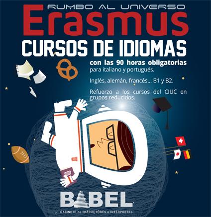 cursos de idiomas para Erasmus